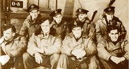 David Hornell and part of his 162 squadron