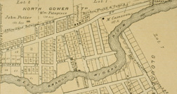 Early Map of Manotick