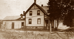 Post Card 1908, Wilson House